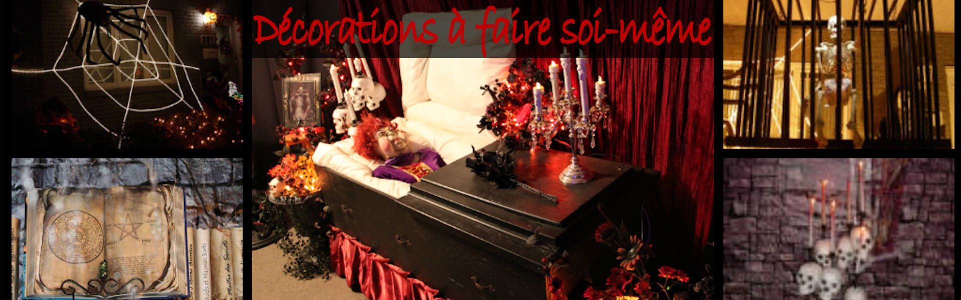 d coration halloween maison hantee. Black Bedroom Furniture Sets. Home Design Ideas