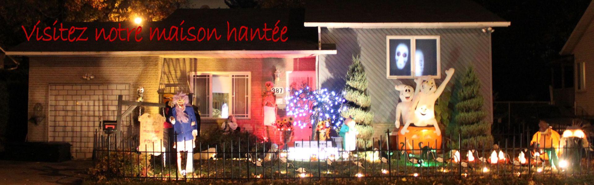 Halloween maison hant e secret queen for Decoration maison hantee