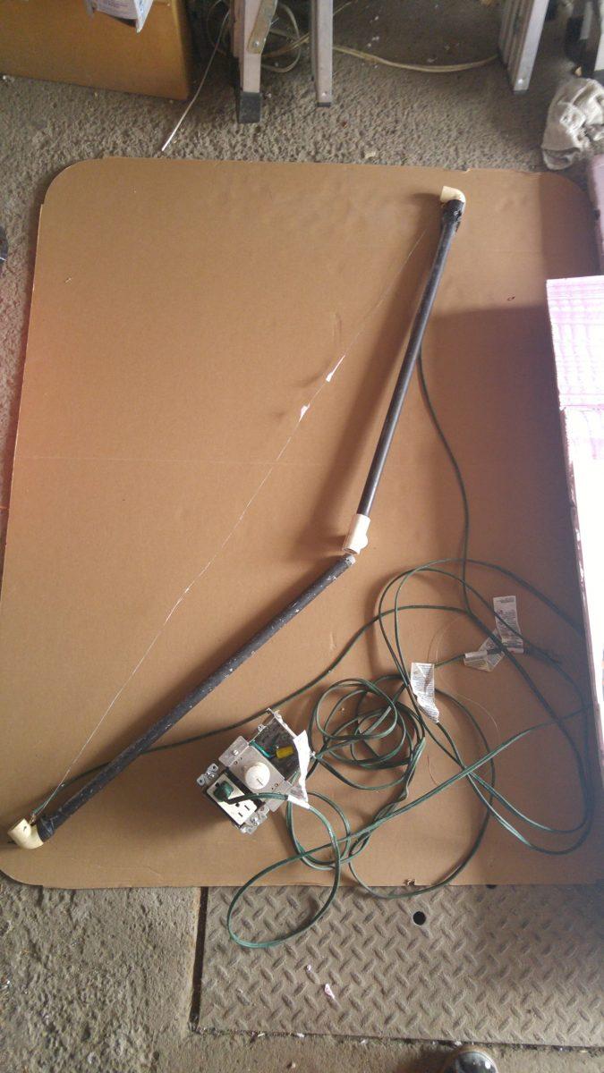 Couteau chauffant électrique pour polystyrène / styrofoam grand 4'
